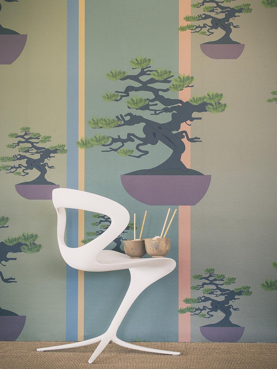 carta da parati bonsai
