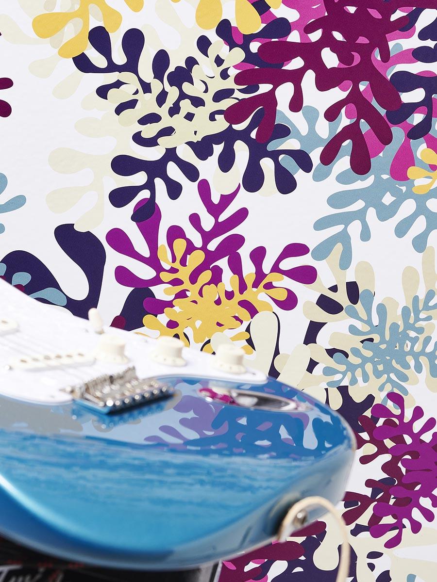 carta da parati pop seaweeds