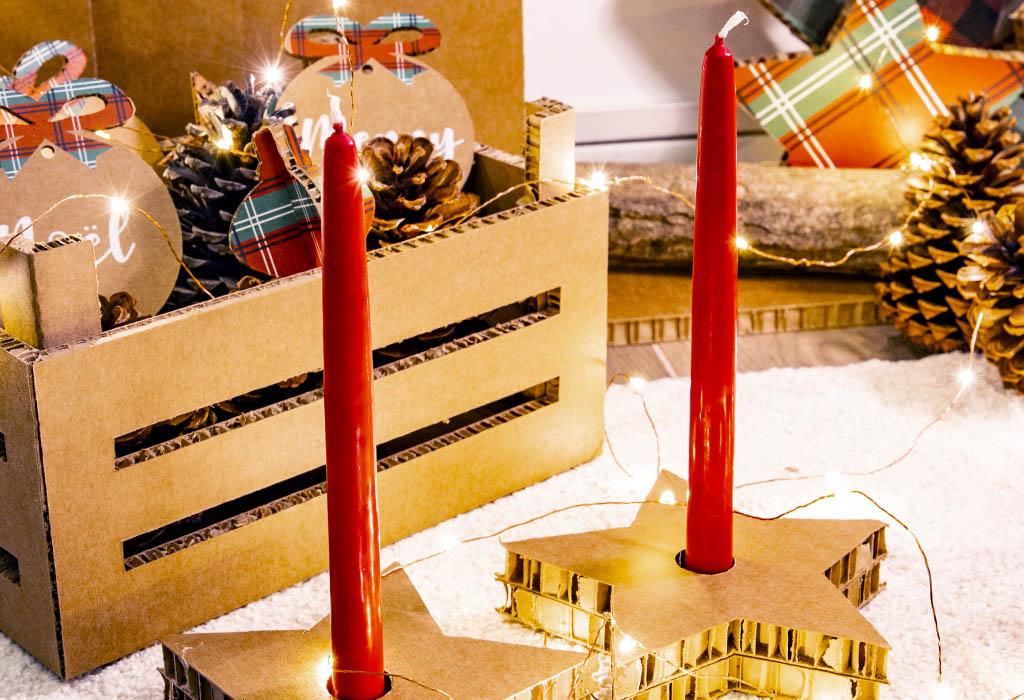 honeycomb design christmas