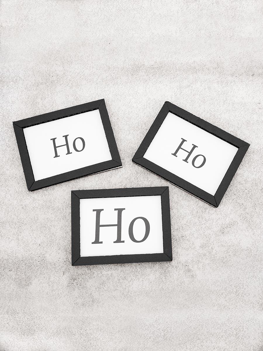quadretti natalizi in cartone alveolare